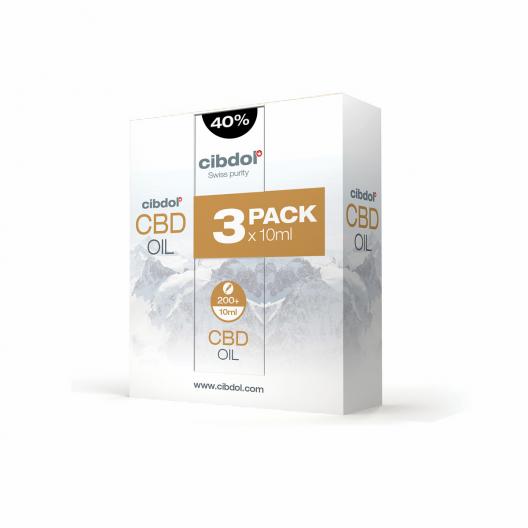 CBD Olej Multipack 40%