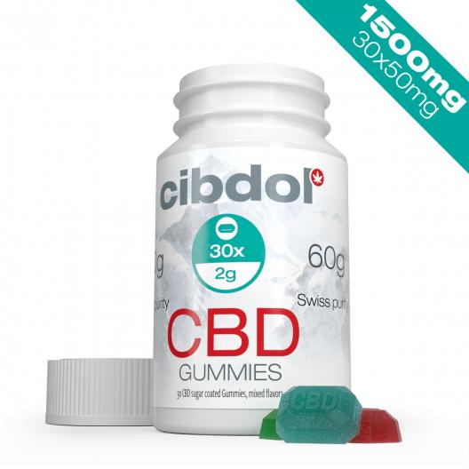 CBD Gummies (1500 mg CBD)